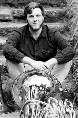 Allen Carpenter with Tuba