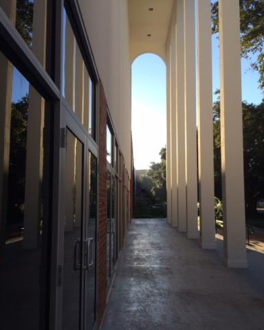 Arches of Angelle Hall