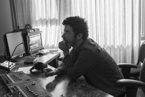 Fox Schwach in his Studio