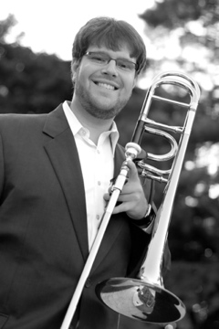 Benjamin Yates with Trombone